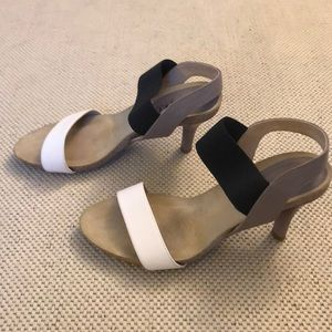 Anyi Lu leather heeled sandals